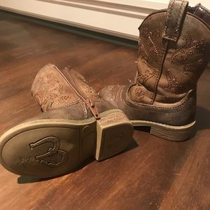 Toddler Cat and Jack cowgirl boots